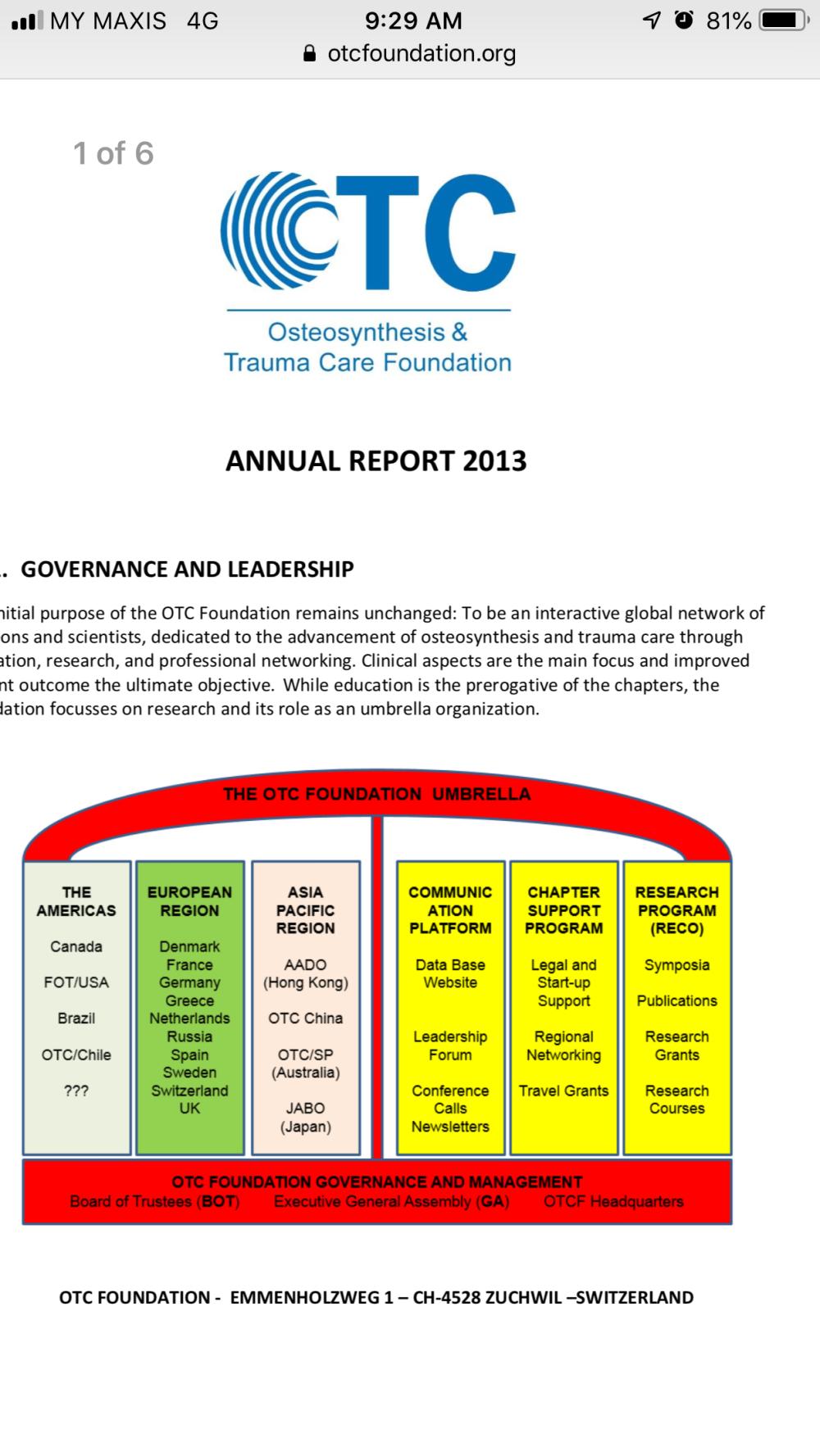 Orthopaedic Trauma Care fellowship 2013 – Rampalsurgery